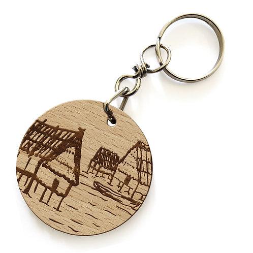 Porte-clés Cités lacustres
