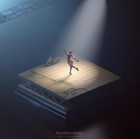 3D Project | Let's Dance