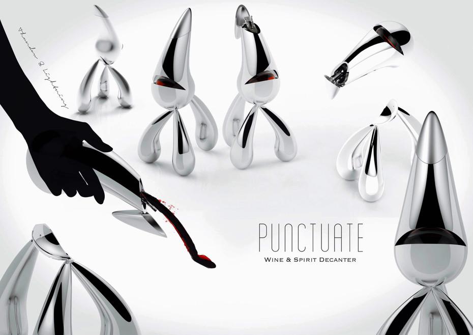 Punctuate | Spirit Decanter