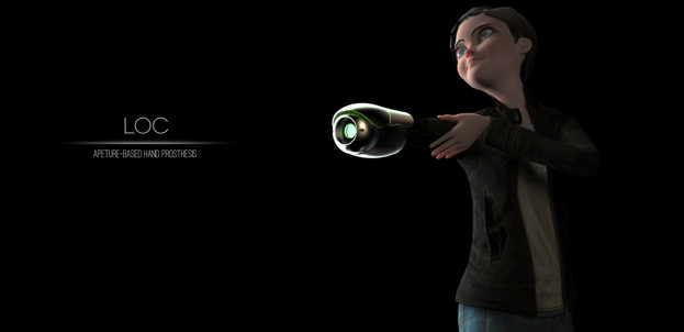 LOC | Aperture-Based Child's Toy Prosthesis