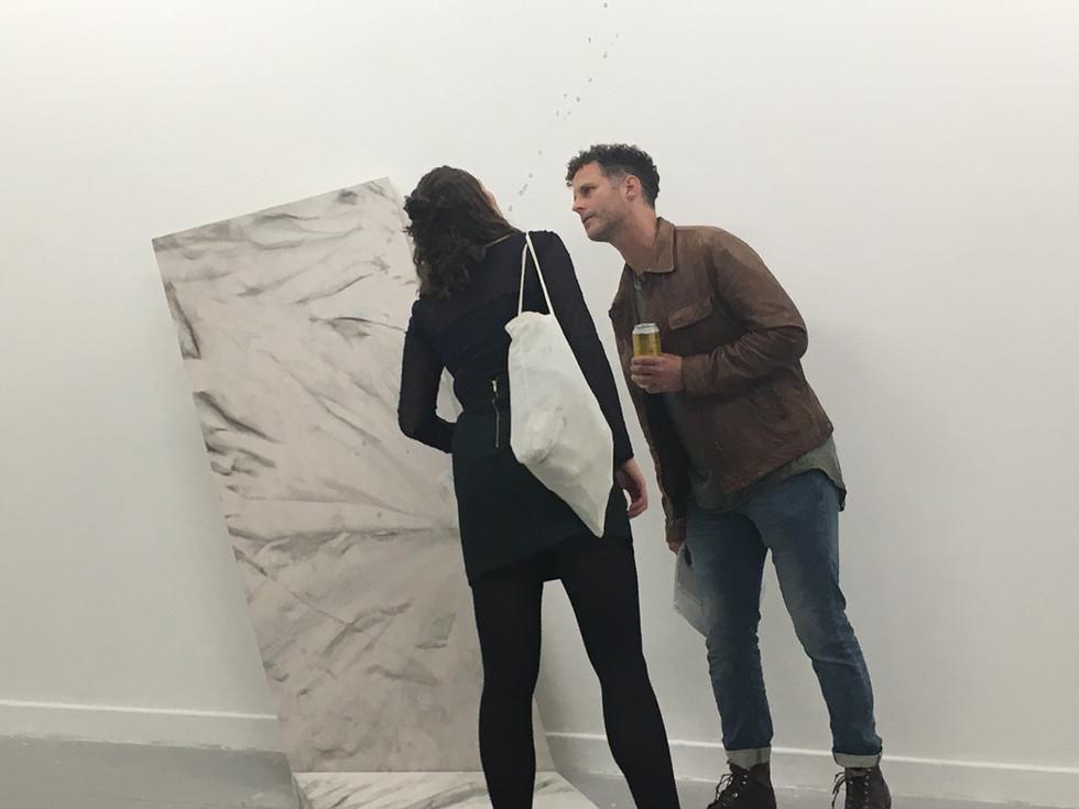 Installation,' Distant Blues', 2018