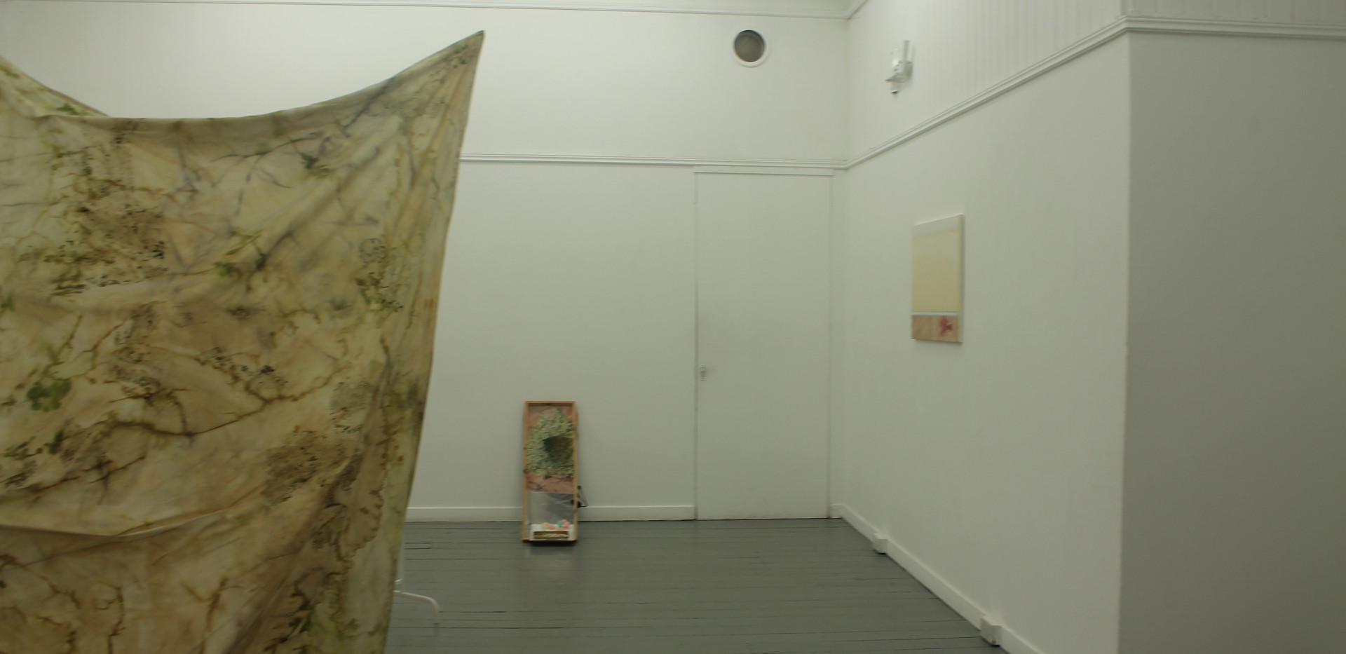 Installation view from In the Gaps, 2018.