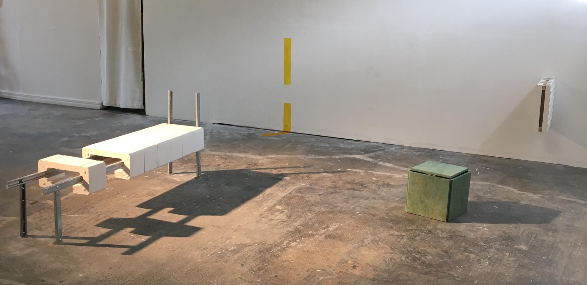 Installation shot, Reviving Plains, 2019.