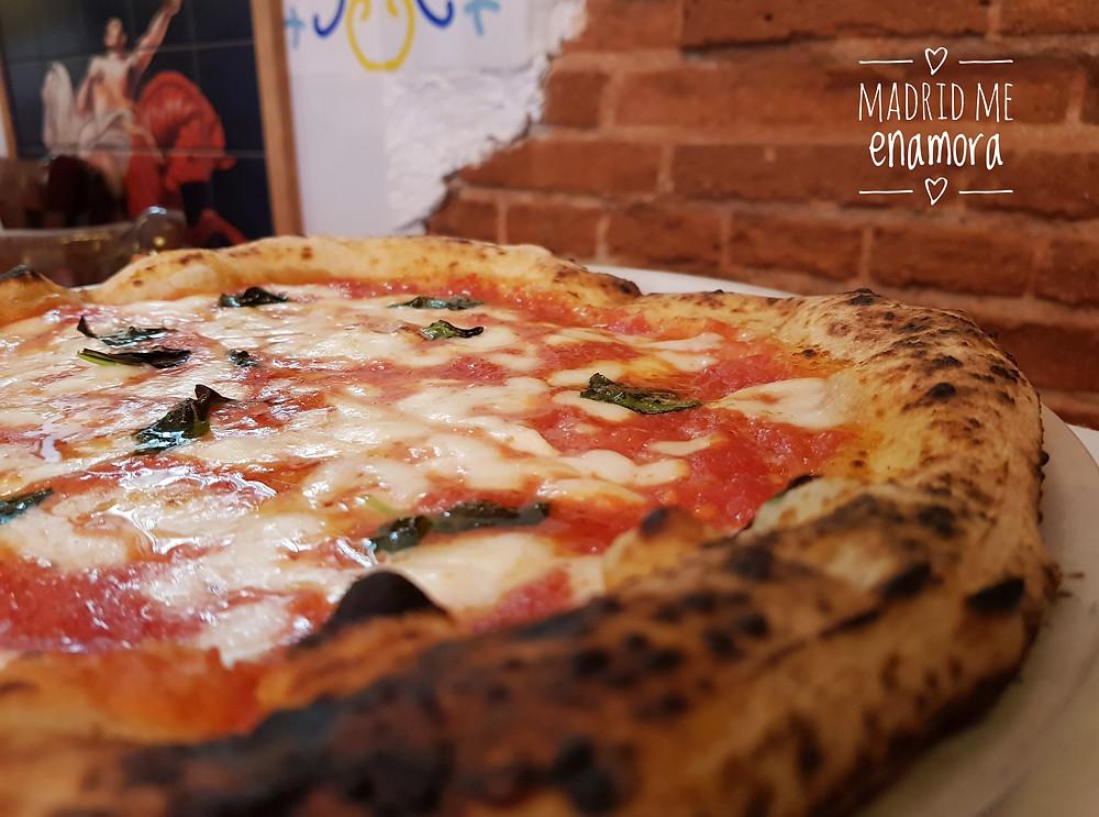 La pizza margherita de Luna Rossa es uno de sus imprescindibles.