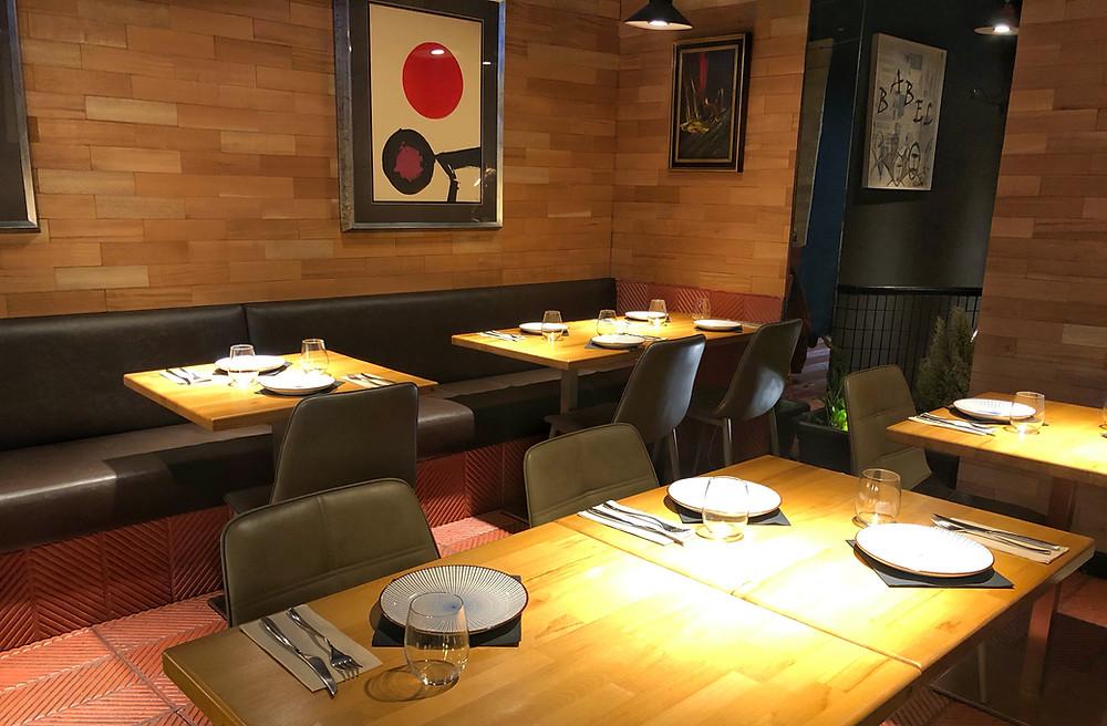 Sunne, restaurante en Madrid recomendado en www.madridmeenamora.com
