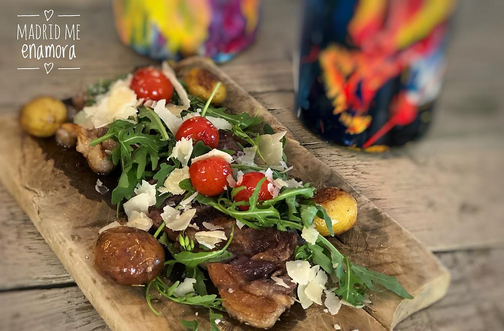 En Amicis, todos los platos son ideales para compartir.