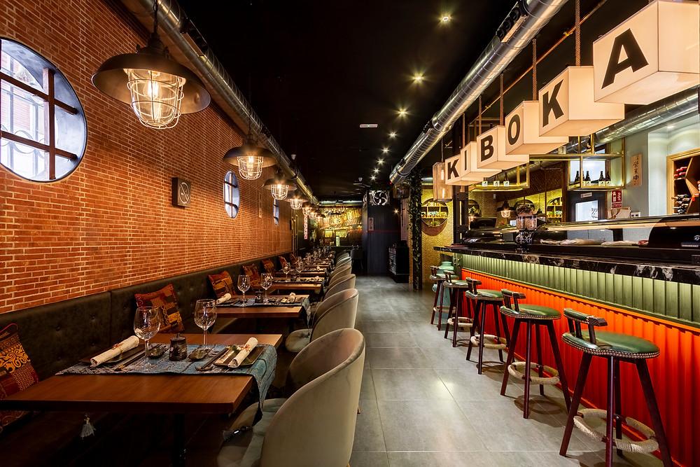 Kiboka, restaurante recomendado en Madrid por www.madridmeenamora.com