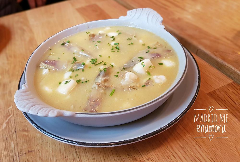 Taberna y Media, restaurante recomendado en Madrid por www.madridmeenamora.com