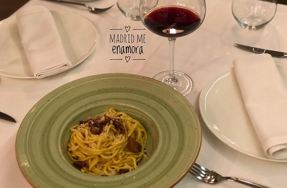Maccheroni Madrid, restaurante recomendado en Madrid en www.madridmeenamora.com