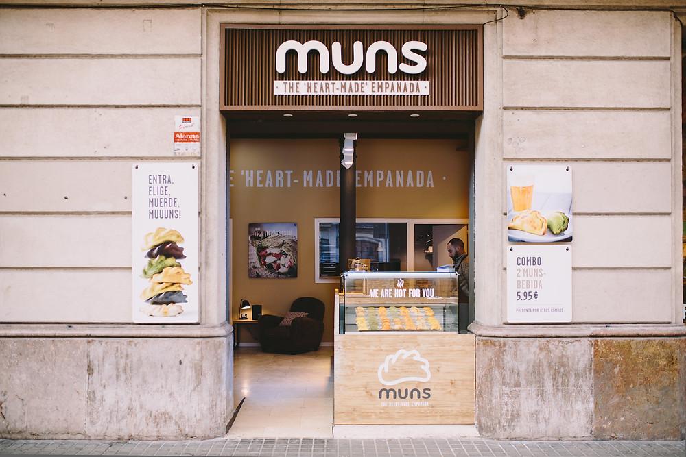 Las Muns, empanadillas recomendadas en Madrid por www.madridmeenamora.com