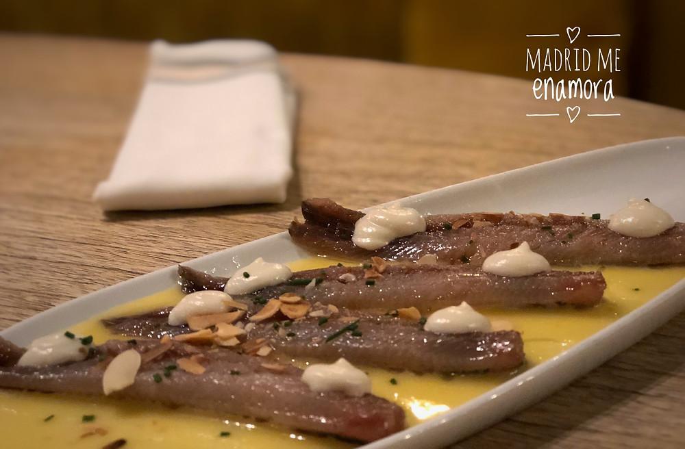El Columpio, restaurante recomendado en Madrid por www.madridmeenamora.com