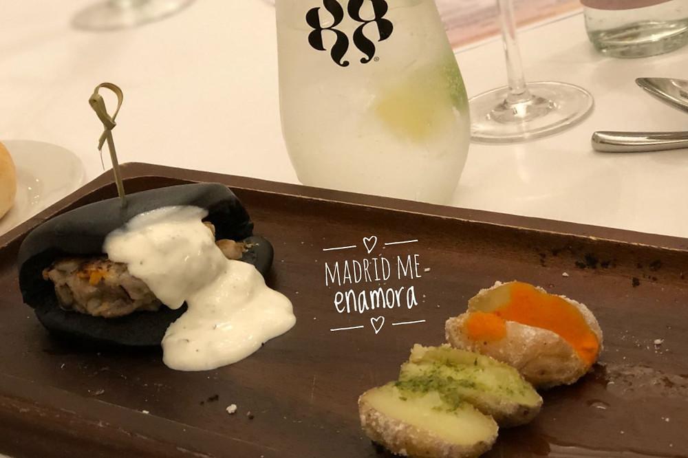 Menú Royal Bliss del Café de Oriente recomendado por www.madridmeenamora.com
