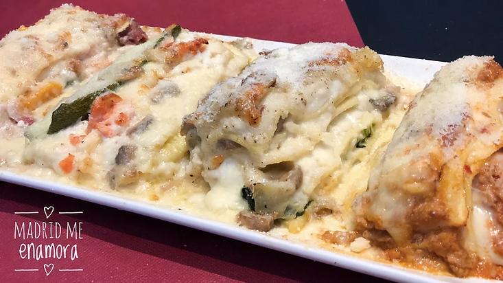 Sinfonía de lasagna.