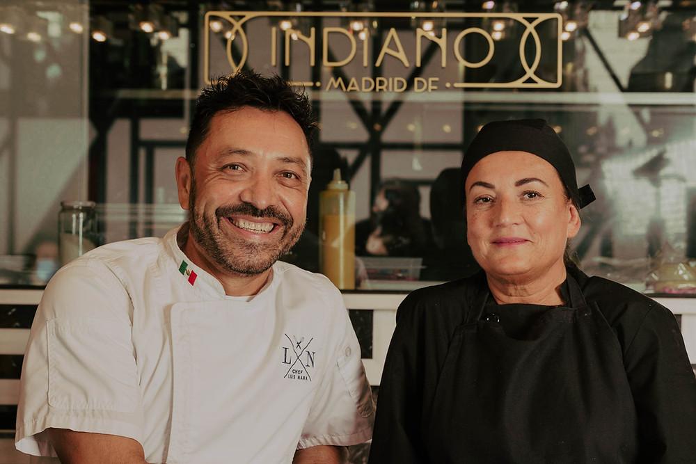 Luis Nara y Rita Sánchez forma un tandem perfecto.