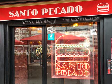 SANTO PECADO, LA TENTACIÓN EN FORMA DE HAMBURGUESA