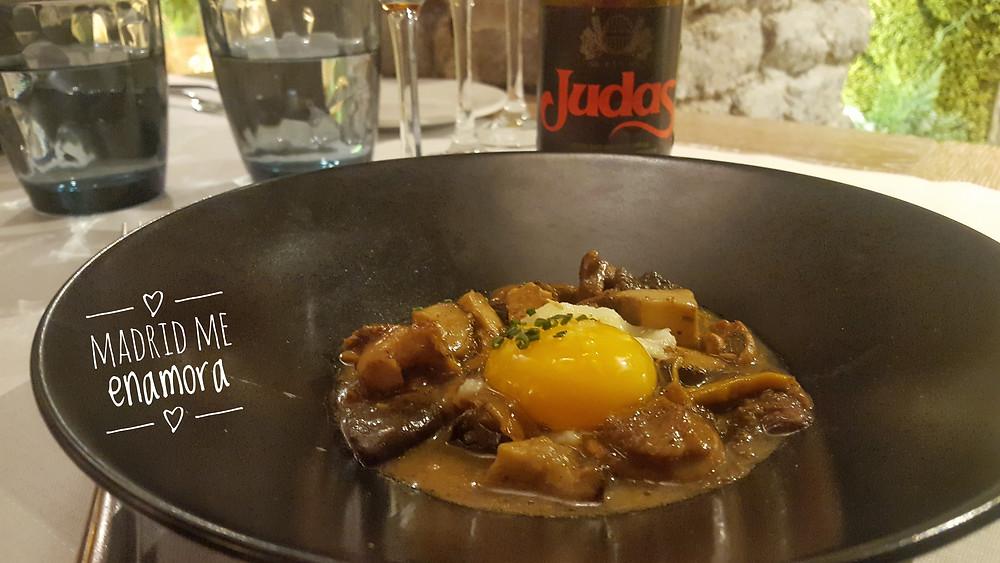 Beer Sensations Menú del Café de Oriente, restaurante recomendado en Madrid por www.madridmeenamora.com