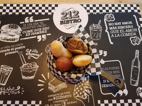 212 BISTRÓ, HAMBURGUESAS CON ESTILO PROPIO LLENAS DE SABOR