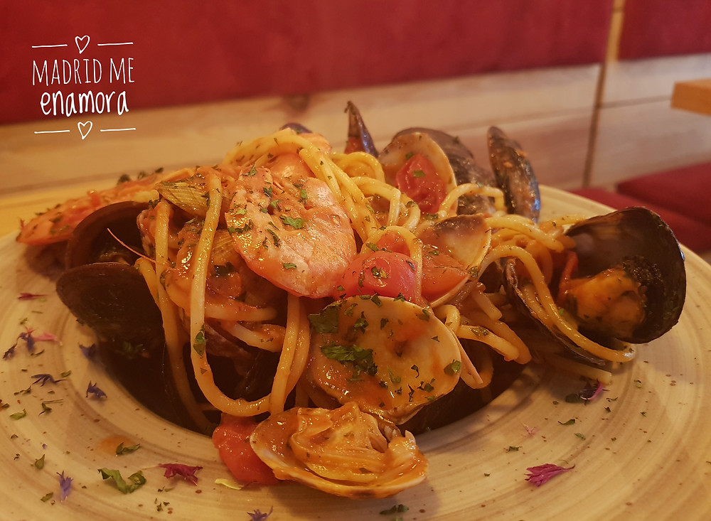 Spaghetti al cartoccio.
