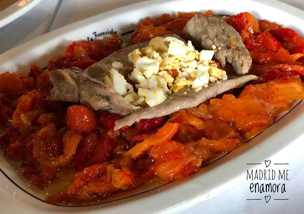 La Fuencisla, restaurante recomendado en Madrid por www.madridmeenamora.com