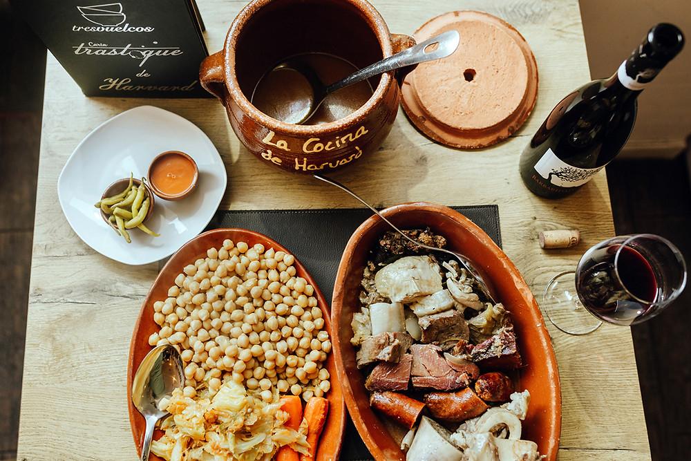 Ruta del cocido madrileño, restaurante recomendado en www.madridmeenamora.com
