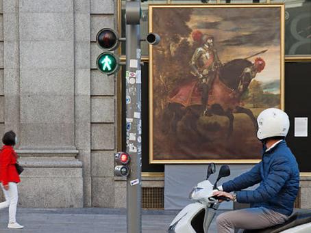 A LA VUELTA DE LA ESQUINA, LAS MEJORES OBRAS DEL PRADO EN LAS CALLES DE MADRID