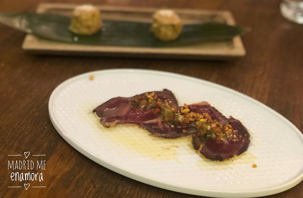 Lúbora, restaurante recomendado en Madrid en www.madridmeenamora.com