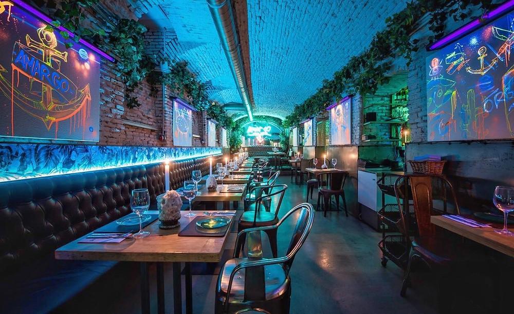 Amargo place to be, restaurante recomendado en Madrid en www.madridmeenamora.com