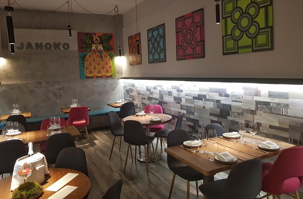 Janoko, restaurante recomendado en Madrid por www.madridmeenamora.com