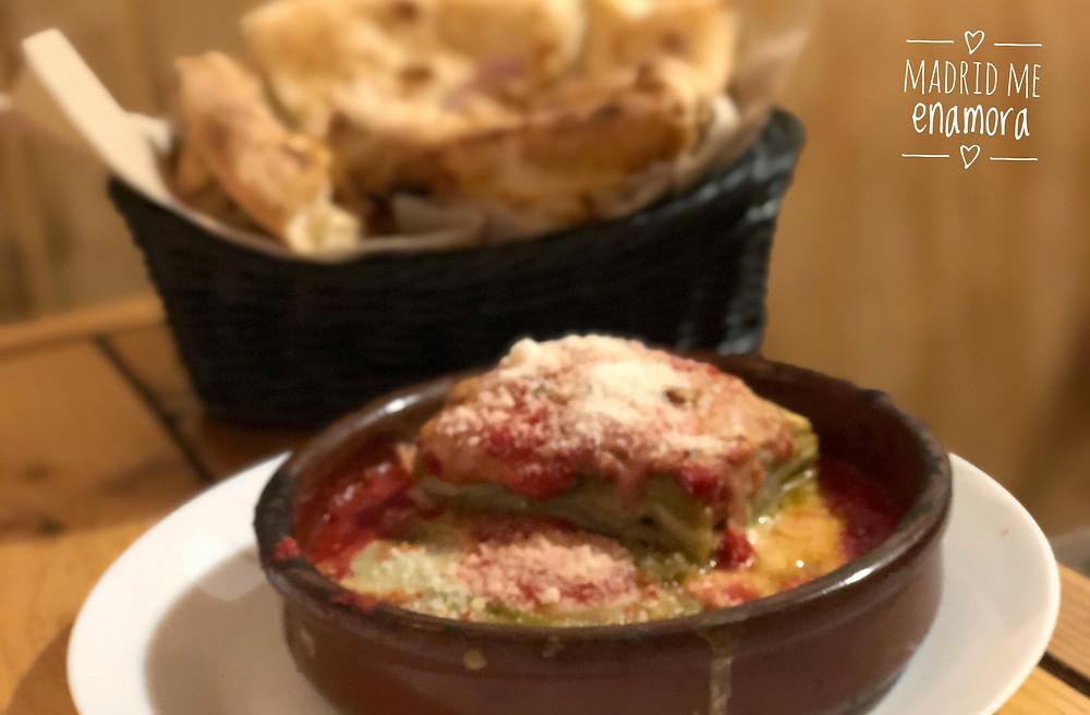 Al Settimo Cielo, restaurante recomendado en Madrid por www.madridmeenamora.com