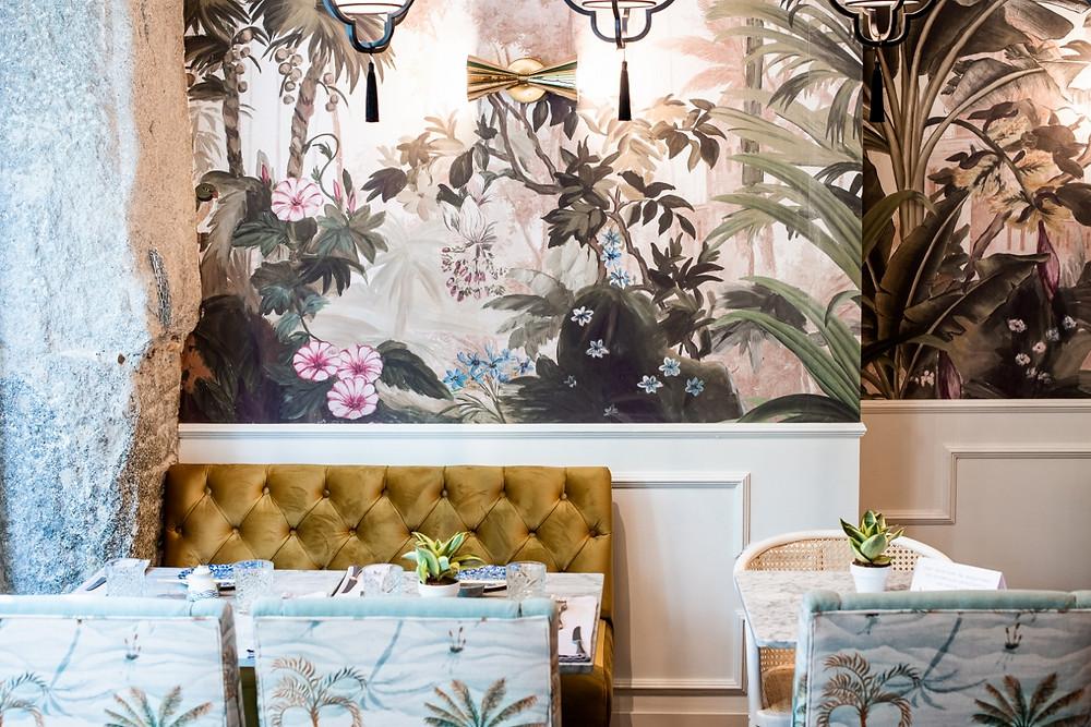El interiorismo de Madame Butterfly es obra del estudio de Marta Banús.