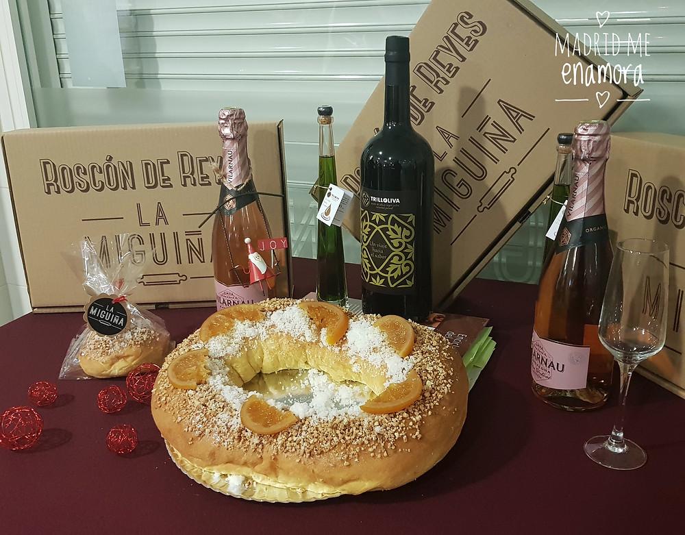 Roscón de Reyes de La Miguiña, plan recomendado por Madrid me enamora en www.madridmeenamora.com
