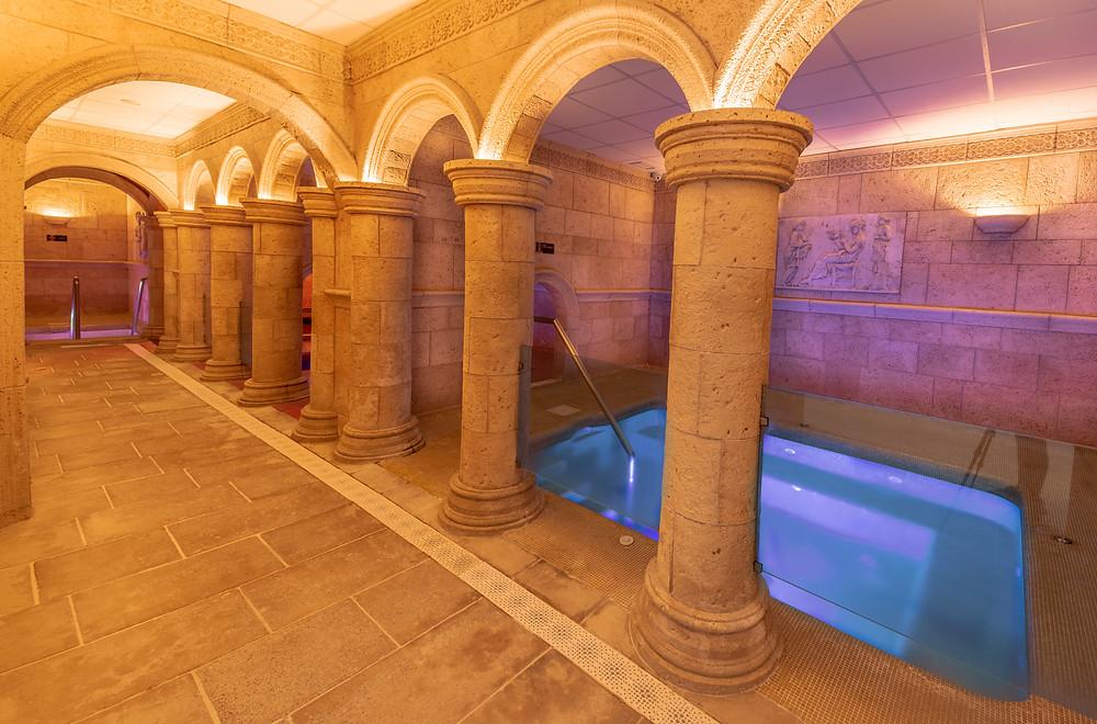 Las Thermas romanas de Griñón están formadas por cuatro piscinas.