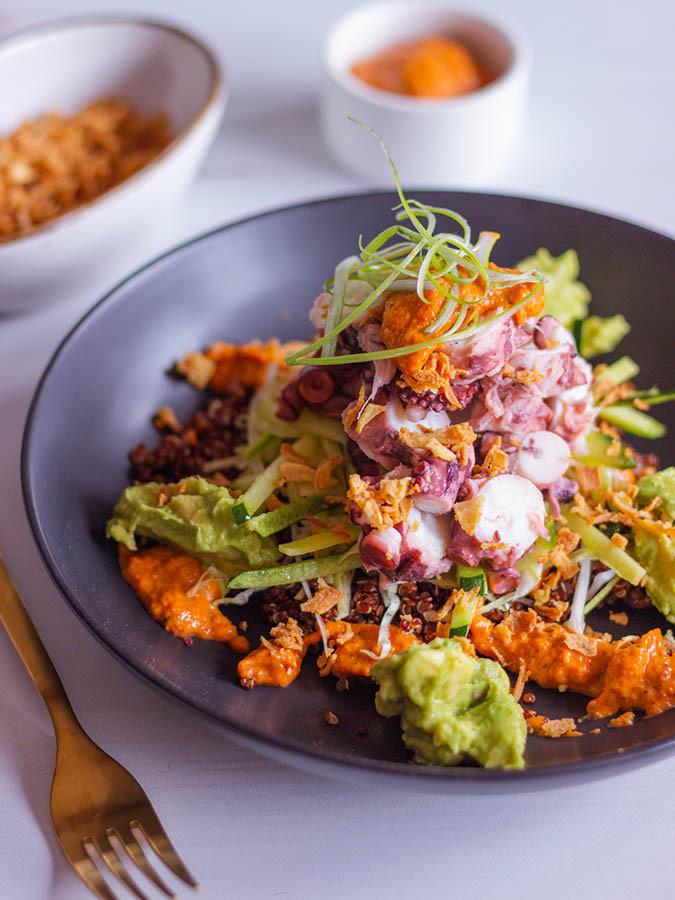 El Kraken Bowl es uno de los platos imprescindibles.