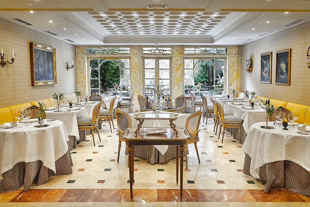 El Jardín de Orfila, restaurante recomendado por www.madridmeenenamora.com