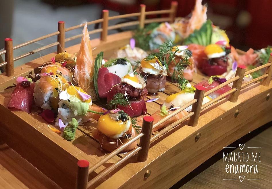 Los mejores restaurantes japoneses de Madrid por www.madridmeenamora.com