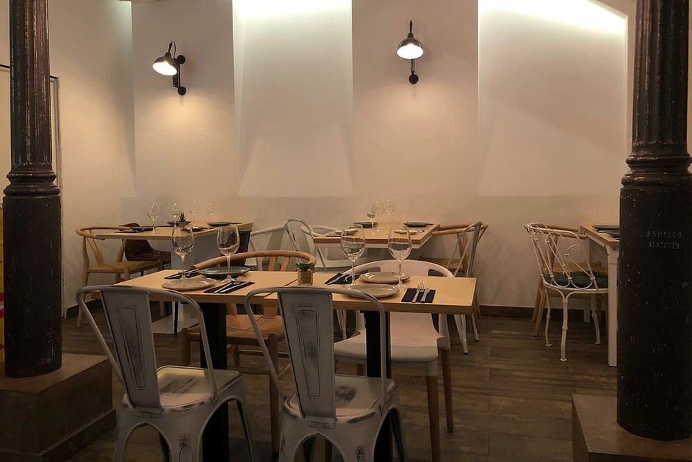 Madere, restaurante recomendado en Madrid por www.madridmeenamora.com