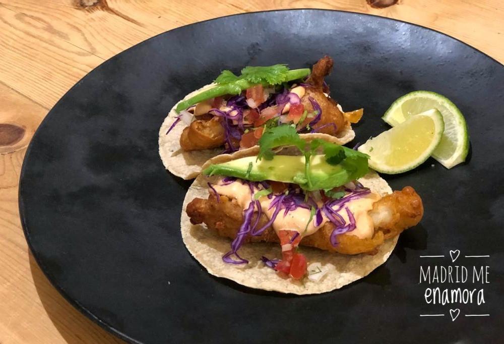 Los tacos Baja California son un 'must'.