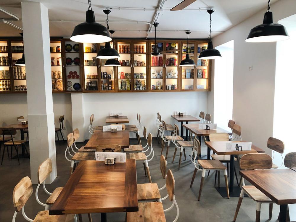 El economato, restaurante recomendado en Madrid por www.madridmeenamora.com