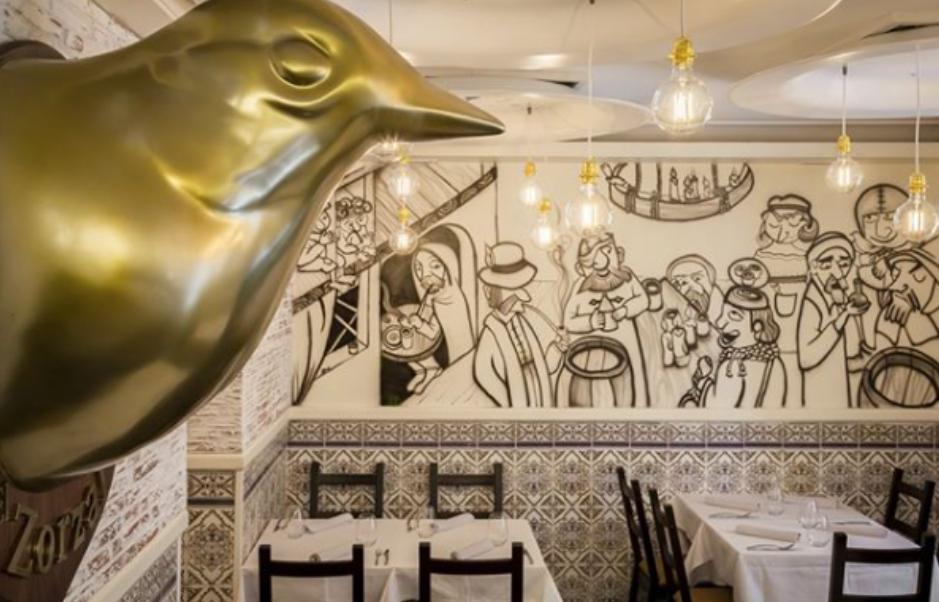 El Zorzal, restaurante recomendado en Madrid por www.madridmeenamora.com