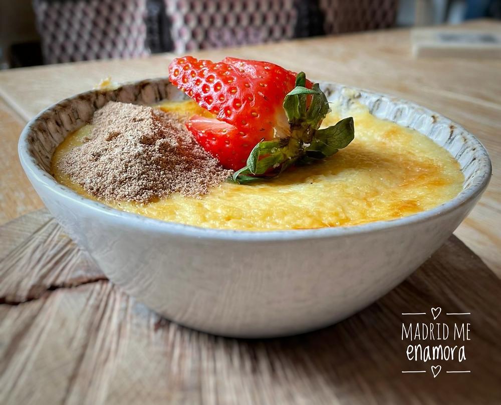 Tarta de queso La Fontana, receta antigua de la abuela, pero hecha al revés.