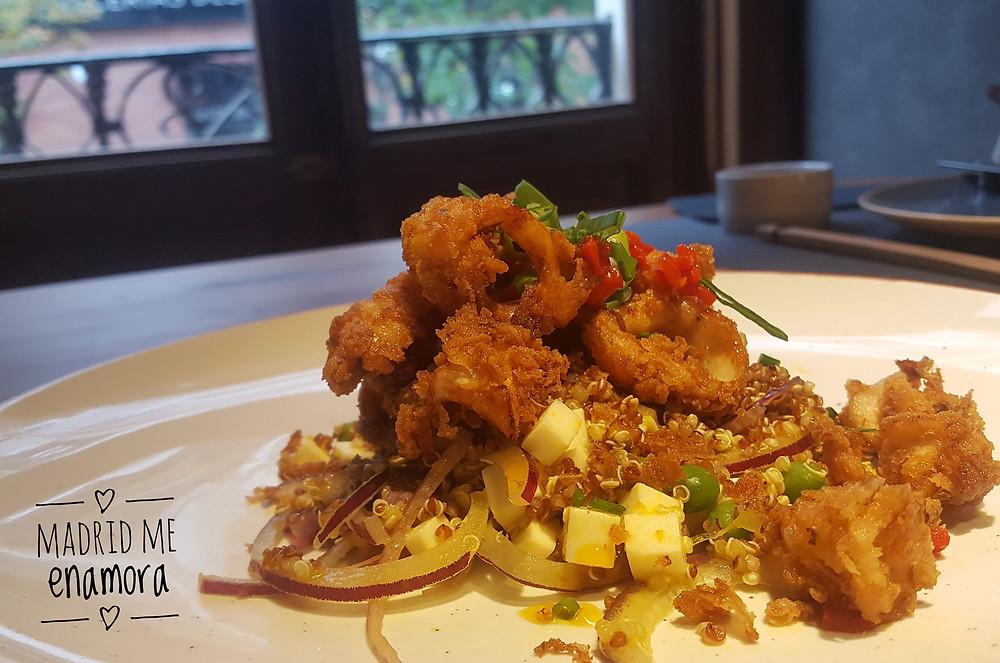 Quispe, restaurante recomendado en Madrid por www.madridmeenamora.com