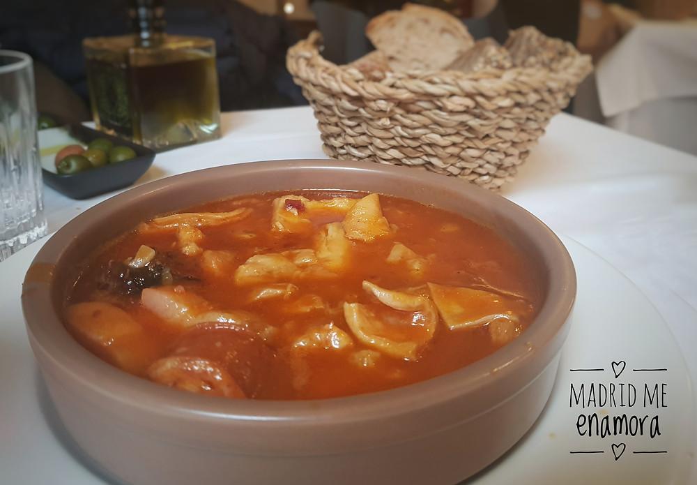 Prístino, restaurante recomendado en Madrid por www.madridmeenamora.com