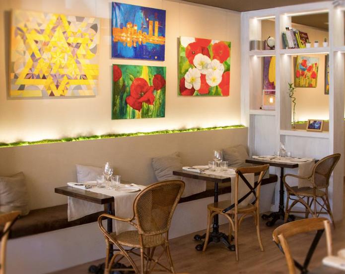 Levél Veggie Bistro, restaurante recomendado en Madrid por www.madridmeenamora.com