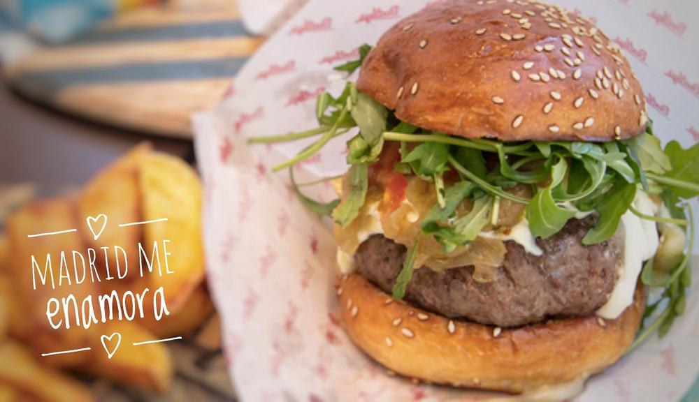 Las 10 mejores hamburgueserías de Madrid por www.madridmeenamora.com