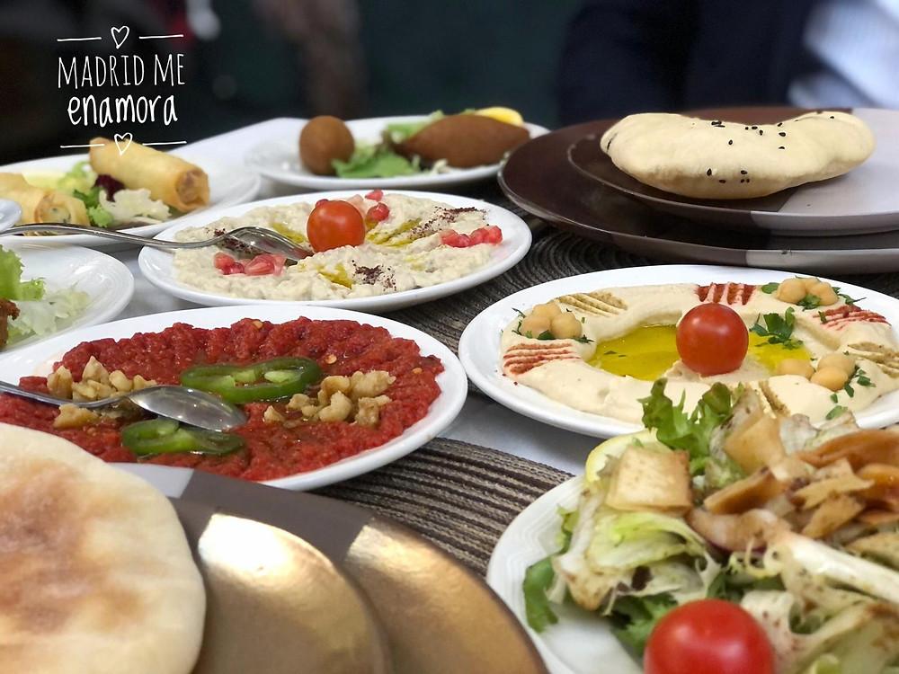 Sabores, texturas y colores en los platos de Beytna.