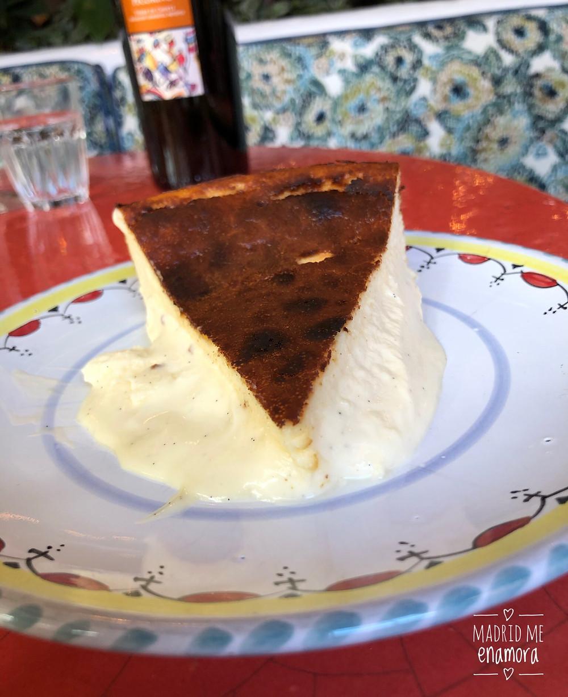 Tarta de queso de Bel Mondo.
