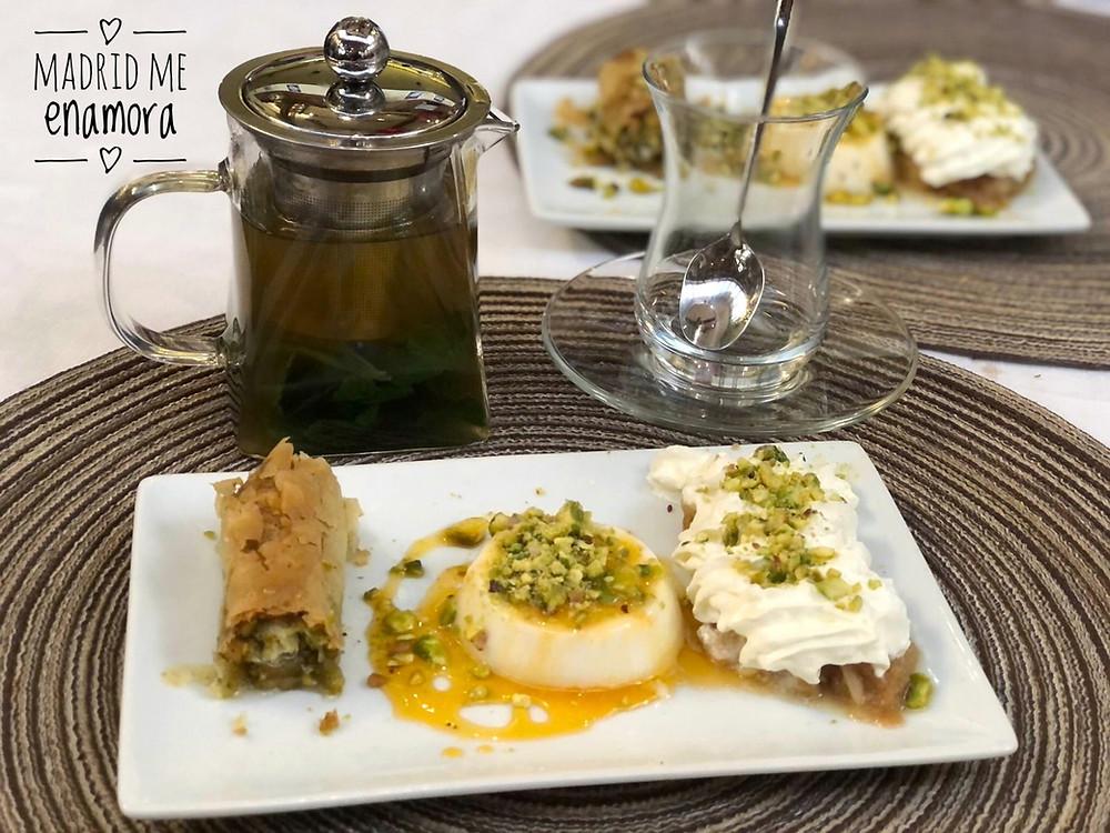 Los dulces a base de hojaldre y frutos secos son muy típicos en los países árabes.