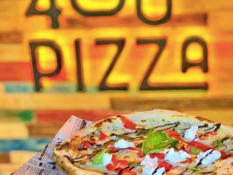 PIZZAS ARTESANALES PARA ARMAR A TU GUSTO EN 400º PIZZA