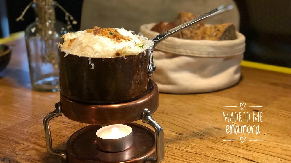 Teckel, restaurante recomendado en Madrid por www.madridmeenamora.com