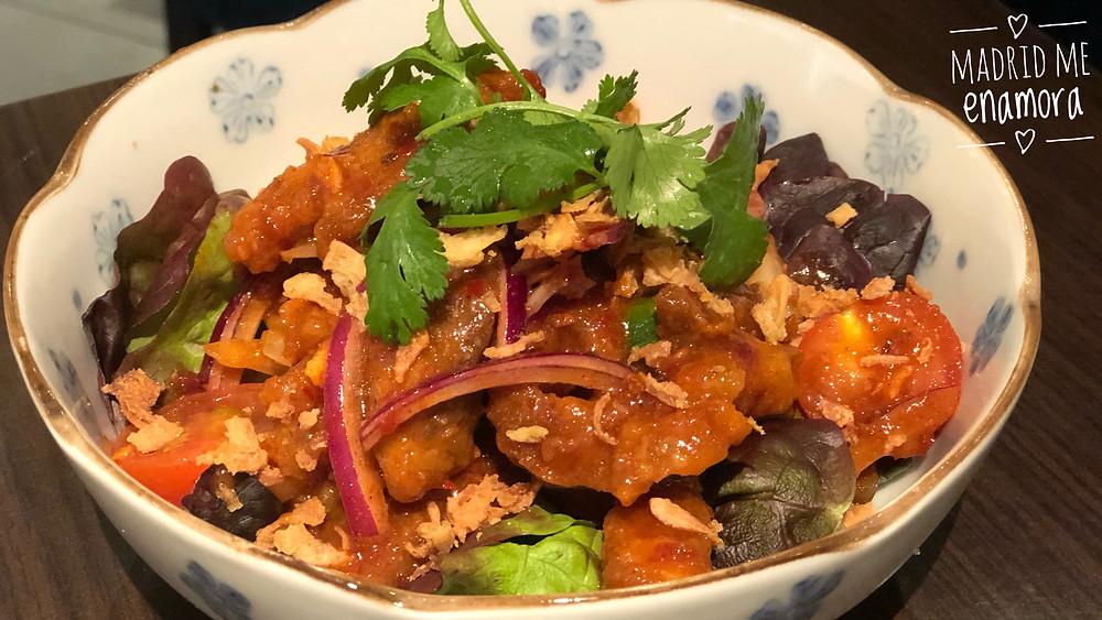 Baiyor, restaurante tailandés en Madrid en www.madridmeenamora.com